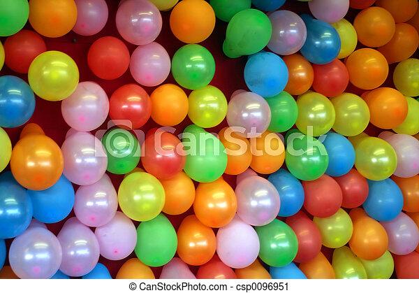 Stock De Fotograf 237 A De Globos Balloon Pared De Un