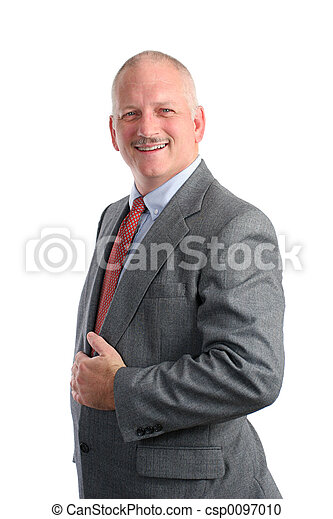 Friendly Businessman - Formal - csp0097010