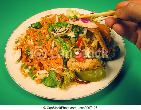 Thai cuisine - csp0097125