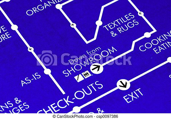 plan, Boden - csp0097386