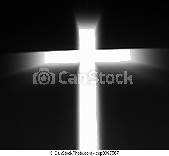 Religious Cross - csp0097587