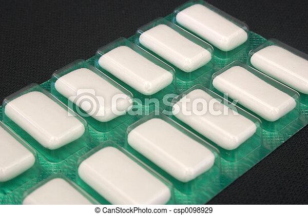 Chewing Gum - csp0098929