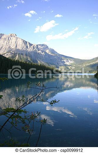 Tranquil  Mtn Lake - csp0099912