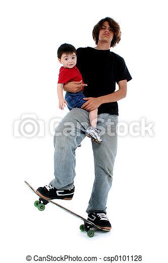 Teen Toddler Boy - csp0101128