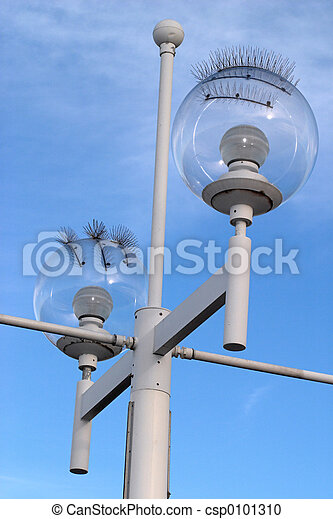 Seagull-proof Street Lamp - csp0101310