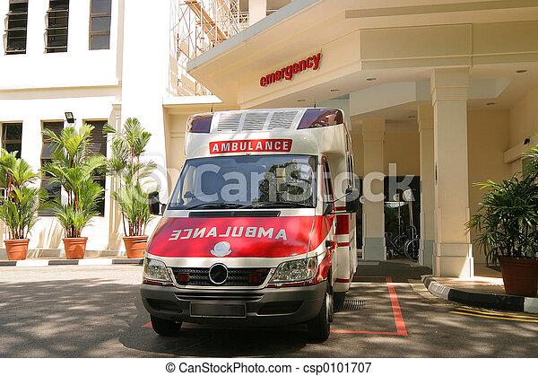 emergency ambulance - csp0101707