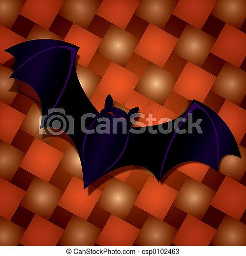 Halloween Bat - csp0102463