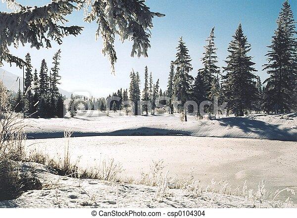 história, inverno - csp0104304