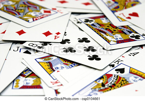 Spread of Cards - csp0104661