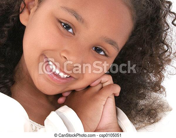 Child Girl Portrait - csp0105051