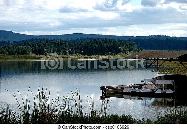 Tranquil Lake - csp0106926
