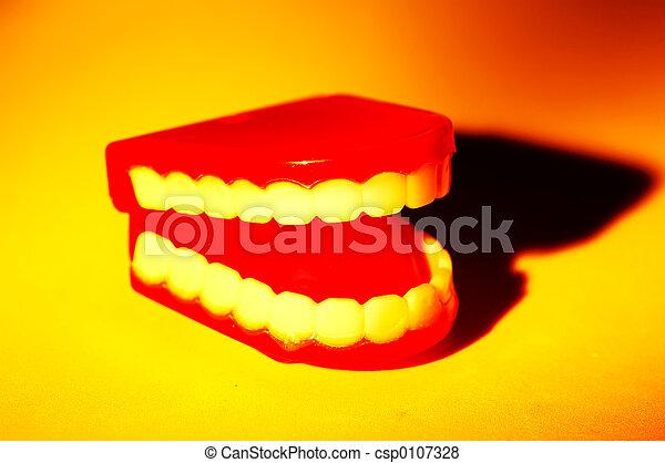 牙齒 - csp0107328