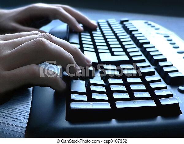 鍵盤 - csp0107352