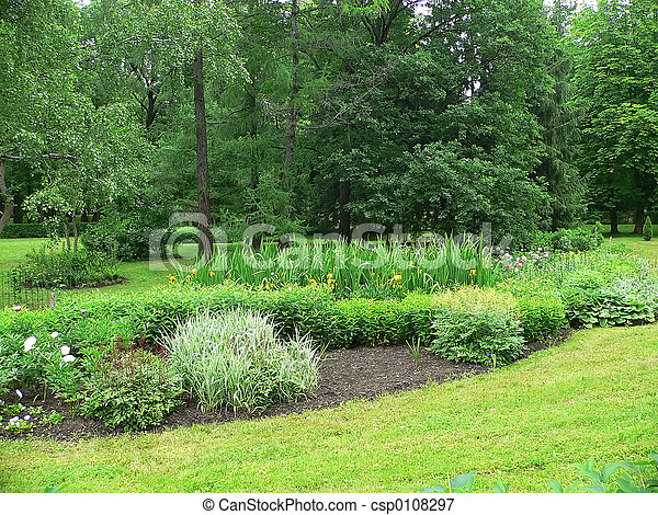 Im genes de primavera jard n arriate jard n primavera for Arriate jardin