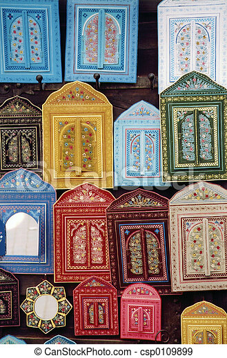 morocco decorations - csp0109899