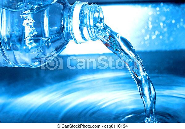 水, 瓶子 - csp0110134
