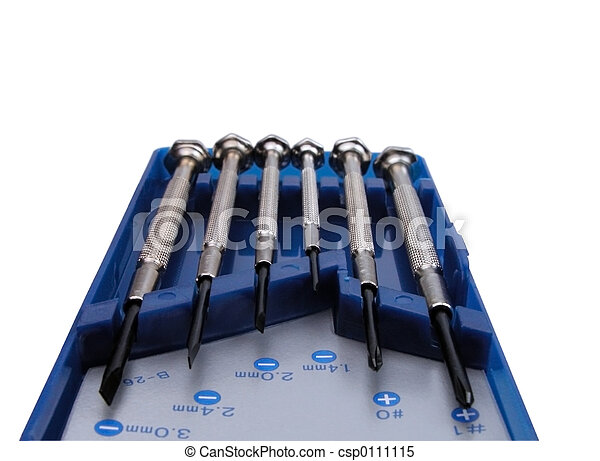 Precision screwdrivers - csp0111115