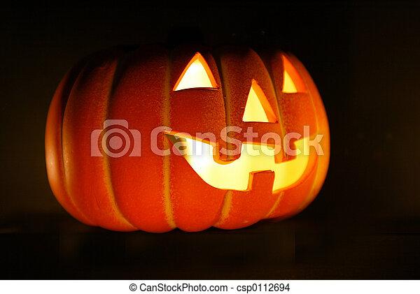 halloween  lantern - csp0112694