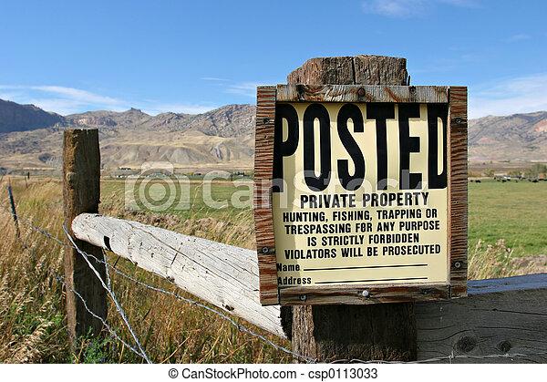 private property - csp0113033