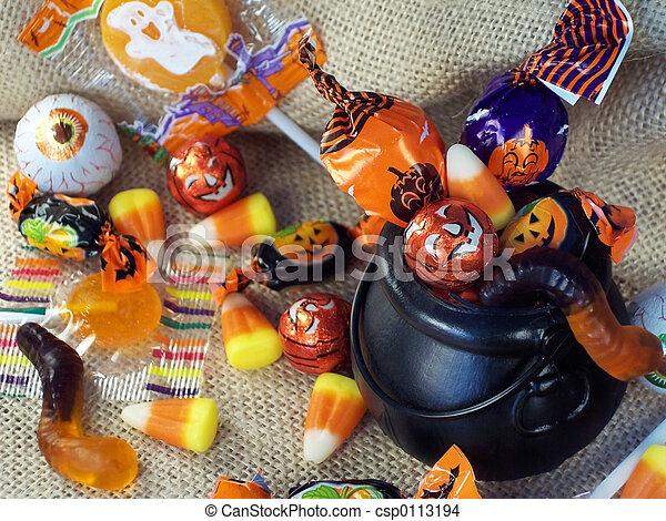 Halloween Candy 4 - csp0113194