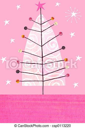 Christmas Tree - csp0113220