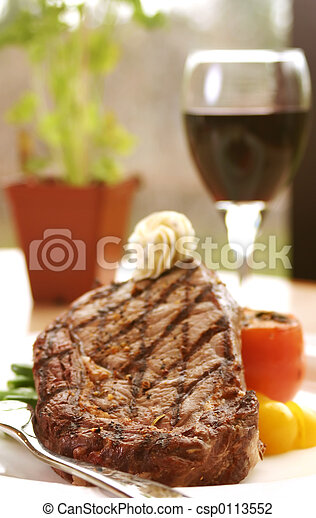 Rib Eye Steak - csp0113552