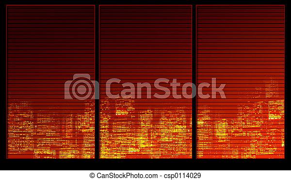 Night city - csp0114029
