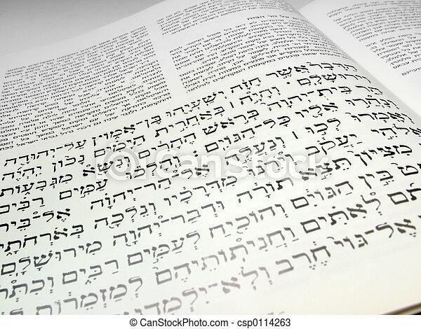 Hebrew   text - csp0114263
