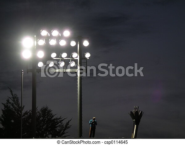 Set of Stadium Light - csp0114645