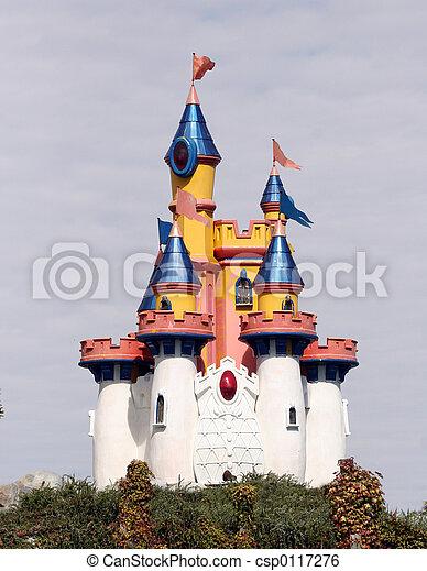 城堡, 玩具 - csp0117276