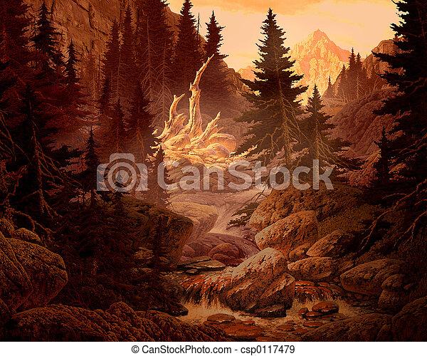 Rocky Mountains - csp0117479