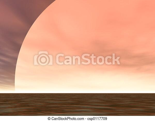 Desert Sunrise - csp0117709