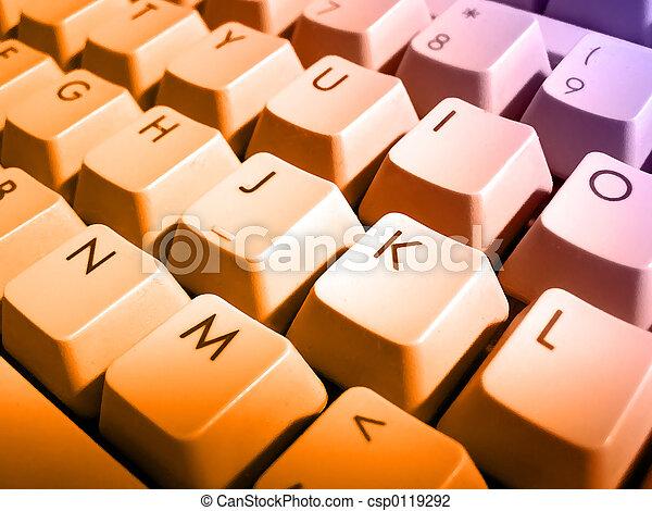 Computer keyboard - csp0119292