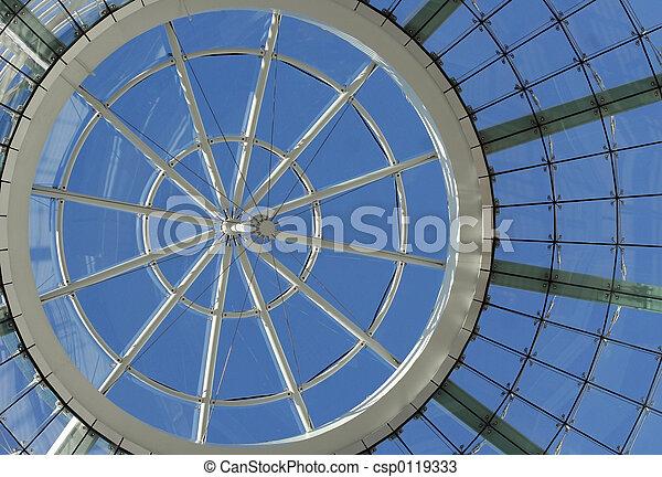 Futuristic dome - csp0119333