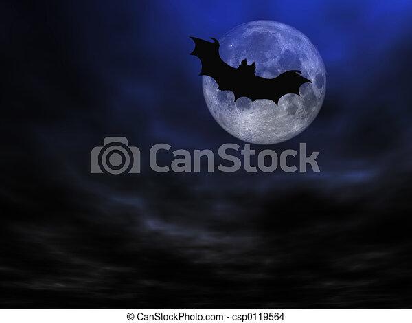 Halloween background - csp0119564
