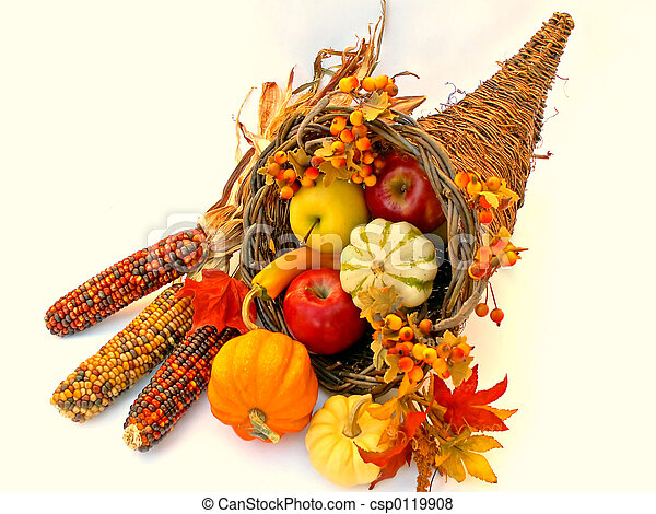 Stock Photo - cornucopia 2 - stock image, images, royalty free photo ...