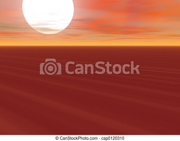 Endless Desert - csp0120310
