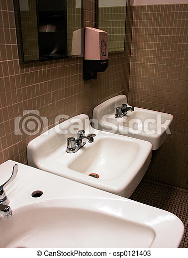 Stock photos of dirty bathroom commercial restroom for Dirty bathroom photos