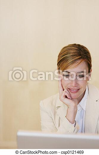女, ビジネス - csp0121469