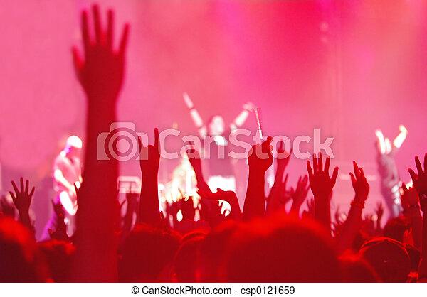 rock concert - csp0121659