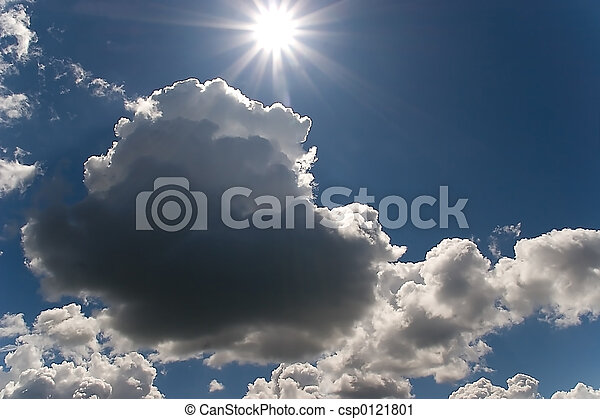 nature sky and sun, ontario 2005
