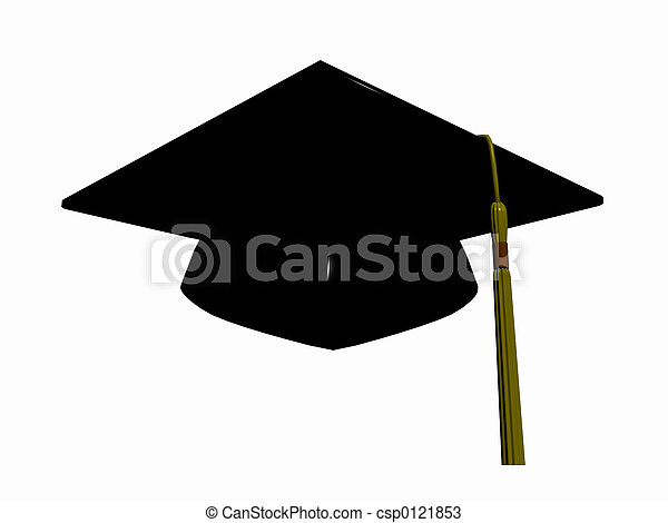 Graduation hat. - csp0121853