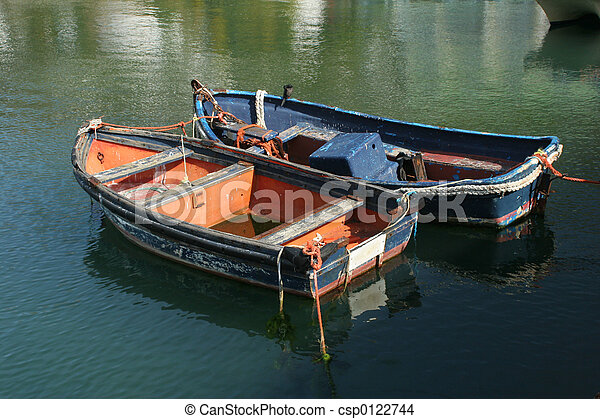 Two fishing boats - csp0122744
