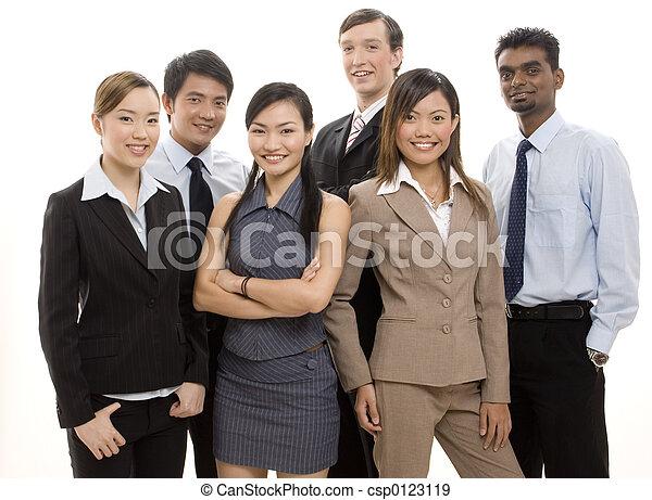 Happy Business Team 2 - csp0123119