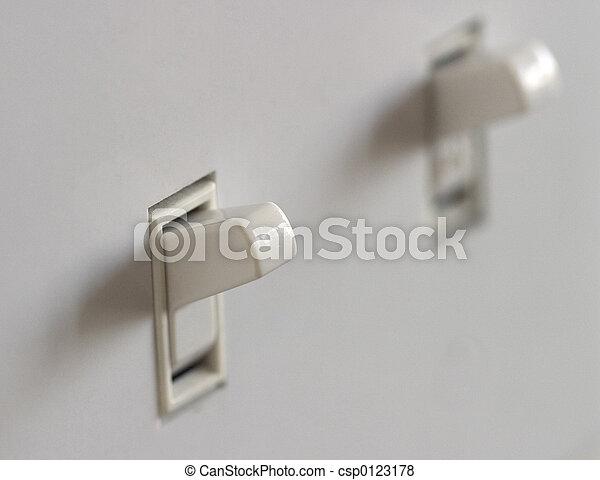 Double Light Switch - csp0123178