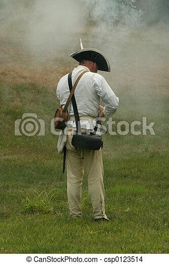 Colonial Soldier - csp0123514