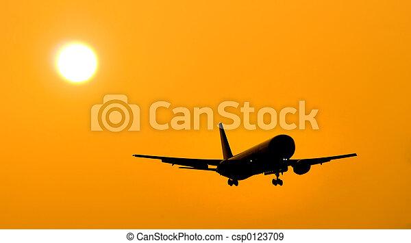 Aircraft Landing - csp0123709