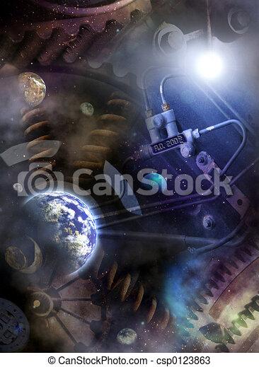 Universe Year Counte - csp0123863