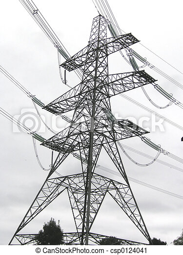 electricity pylon - csp0124041