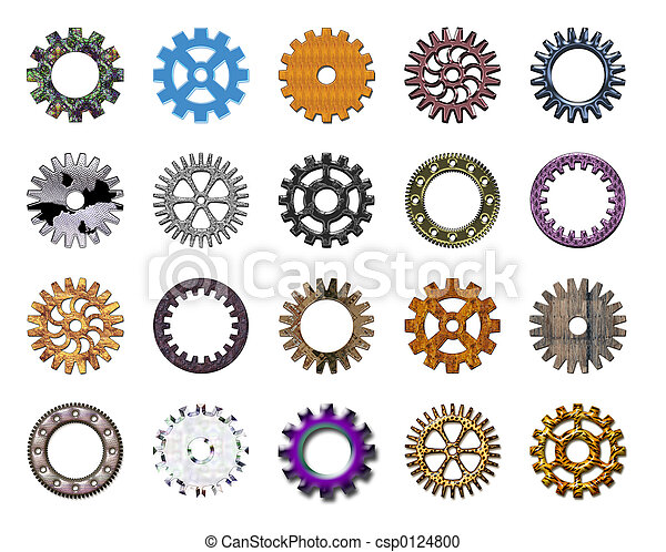 Gears collection #4 - csp0124800